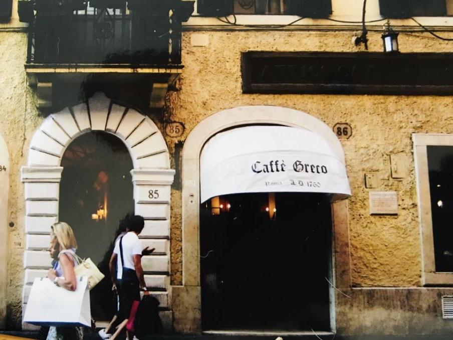 Caffe Greco, Roma, 2007