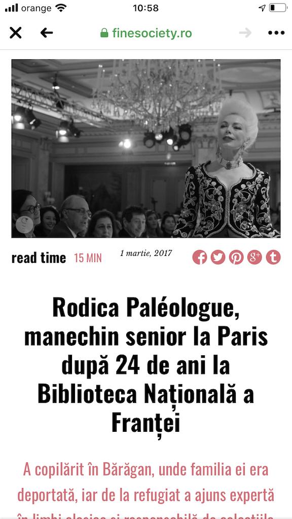 Rodica Paleologue