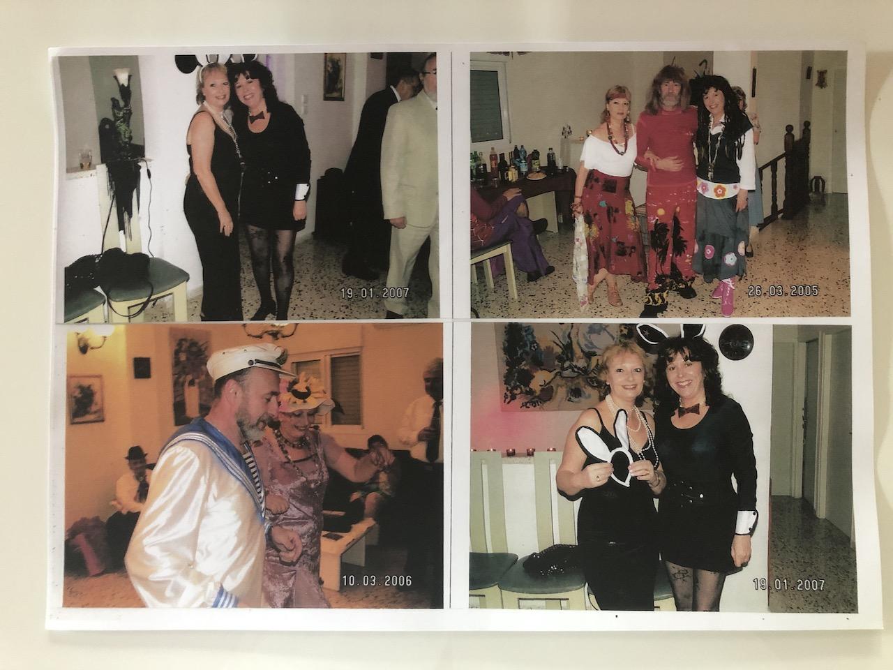 mama si gasca, party de Purim, 2006