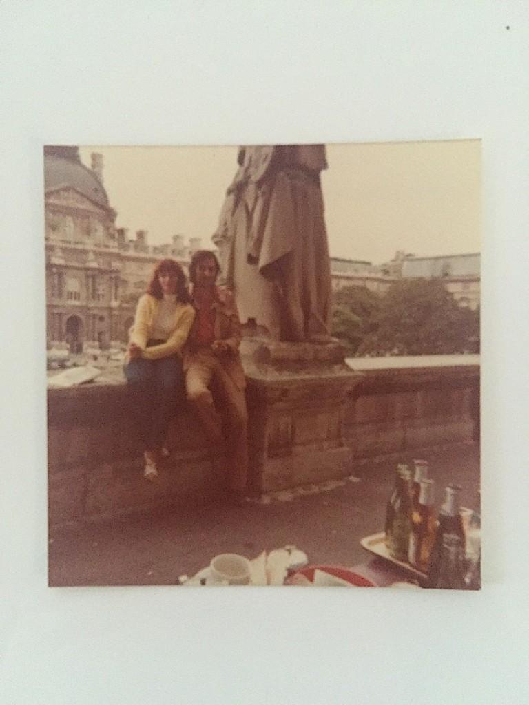 Mama si tata in Paris, final de august 1980