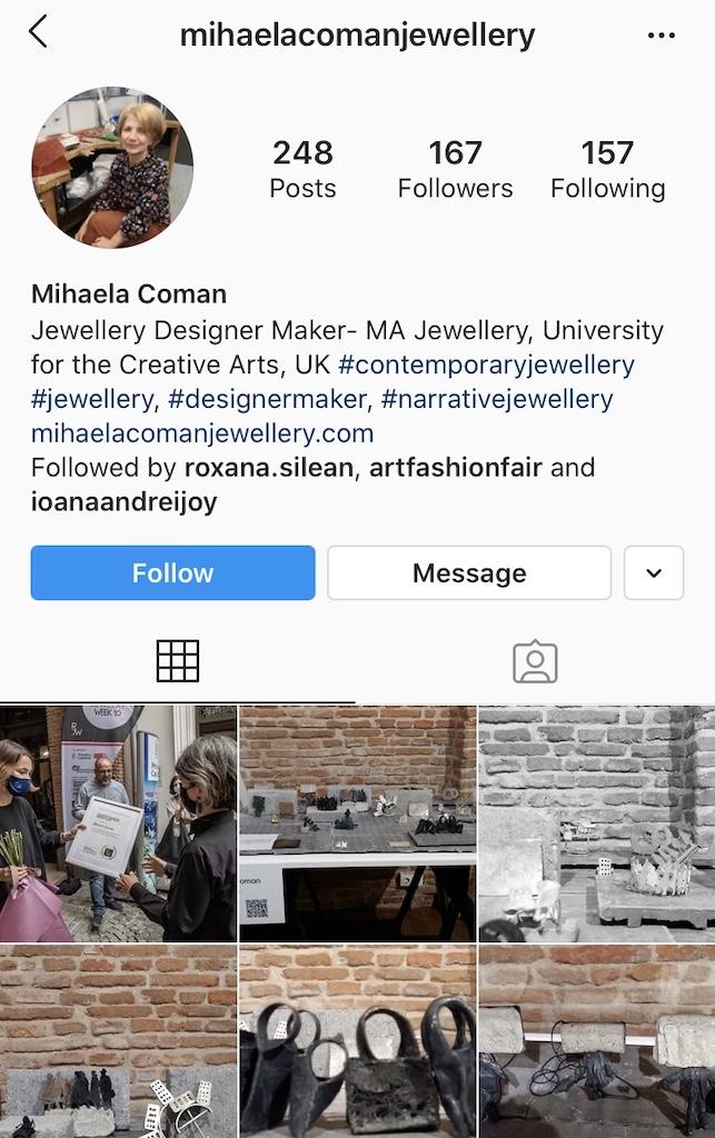 Mihaela Coman Instagram