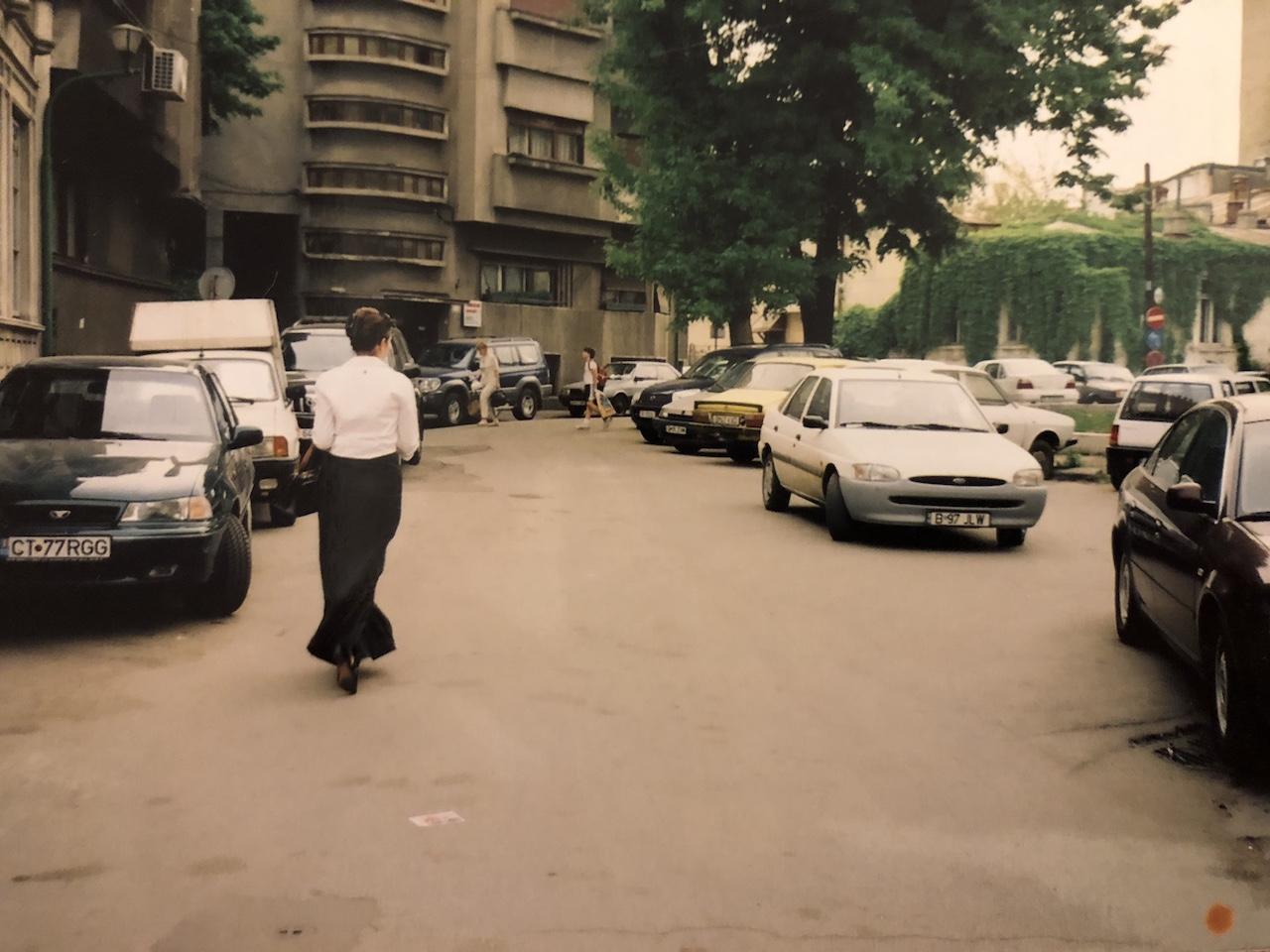 Strada Stelea Spatarul, mai 2003, perioada Saatchi & Saatchi
