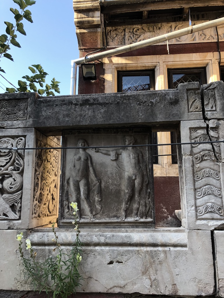 detaliu, Casa Cecilia si Frederic Storck
